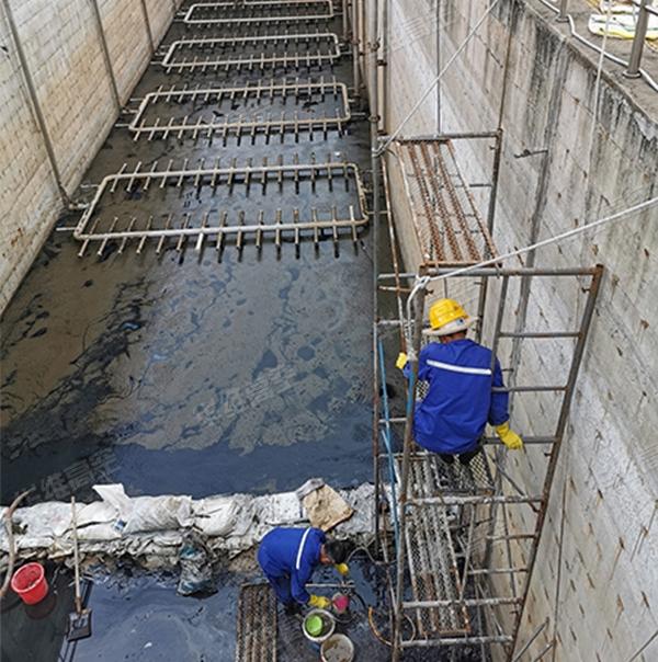 污水池堵漏-伸缩缝