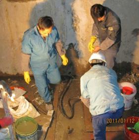 地下车库堵漏工程施工处理渗漏