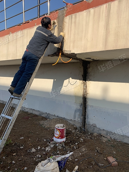伸缩缝防水堵漏施工