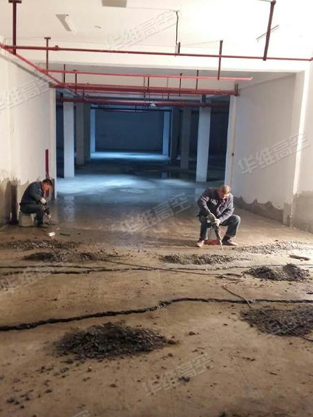 地下车库堵漏方法