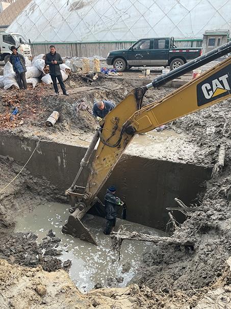 地下通道堵漏施工方案