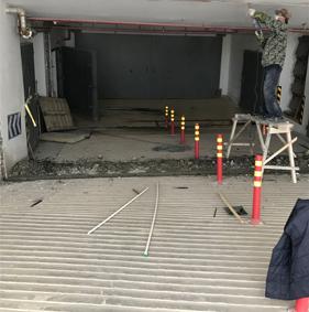地下车库堵漏